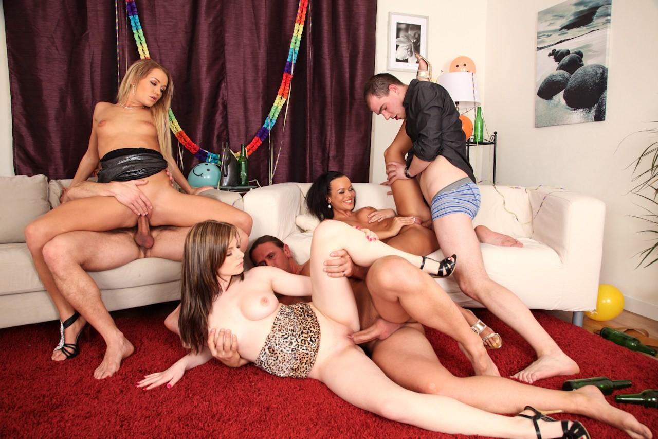 Baccalaureate orgy party backyard bathing girl