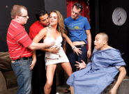 Cuckold Gang Bang #04, Scene #01
