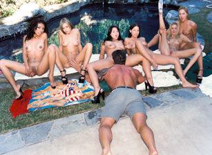 1 Lucky Dick In Multiple Chicks, Scene #01
