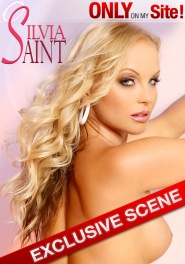 Silvia In Sexy White Dress DVD Cover