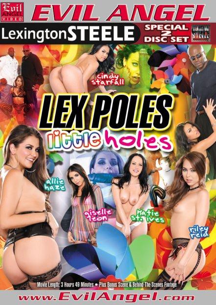 Lex Poles Little Holes Dvd Cover