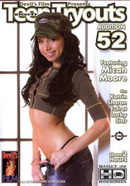 Eight teen tryouts #52 DVD Cover