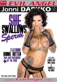 She Swallows Sperm DVD Cover