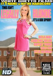 This Isn't Legally Blonde It's A XXX Spoof! DVD Cover