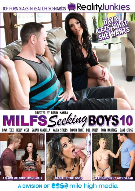 MILFs Seeking Boys #10 Dvd Cover