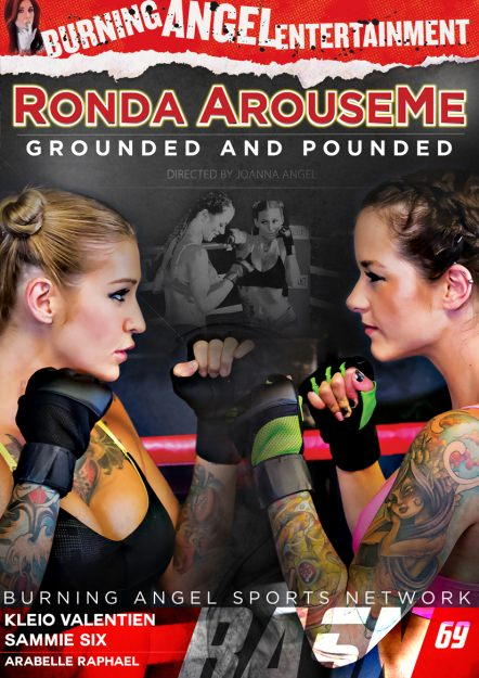 Ronda ArouseMe - Grounded and Pounded Dvd Cover