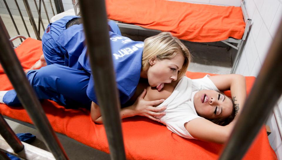MHM-Prison Lesbians – Zoey Monroe, Morgan Lee