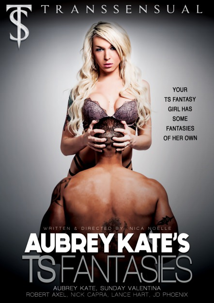 Aubrey Kate's TS Fantasies Dvd Cover