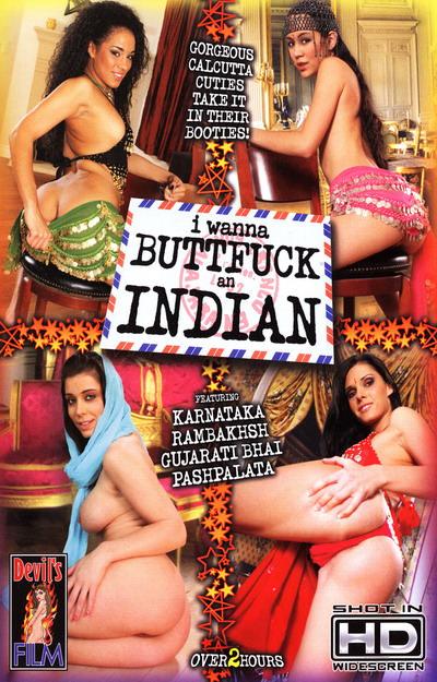 I Wanna Buttfuck An Indian #01 Dvd Cover