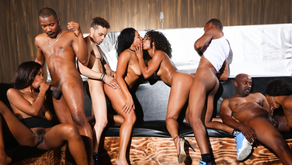 Black Kings And Queens – Misty Stone, Chanell Heart, Jezabel Vessir, Quinn Quest
