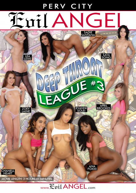 Deep Throat League #03 Dvd Cover