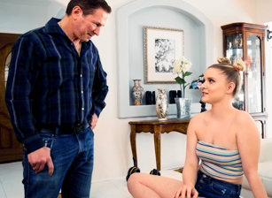 Daddy's Anal Cutie #02 - Harlow West & John Strong