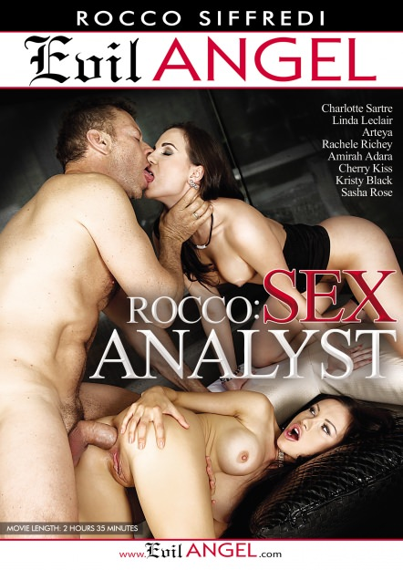Rocco Sex Analyst Dvd Cover