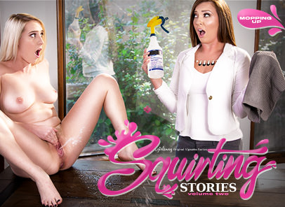 GirlsWay – Squirting Stories Volume Two Mopping – Maddy Oreilly , Cadence Lux