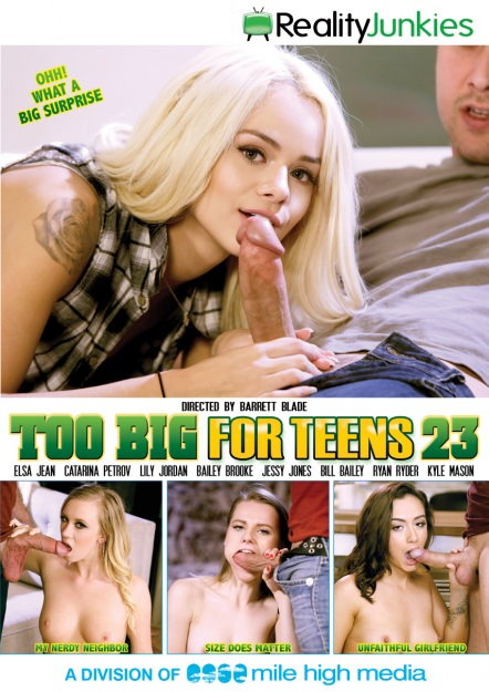 Too Big For Teens #23 Dvd Cover