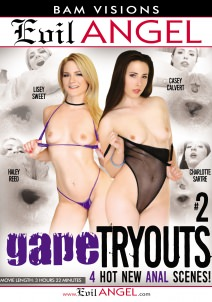 Gape Tryouts #02 Dvd Cover
