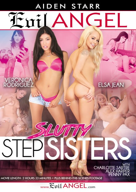 Slutty Stepsisters DVD Cover