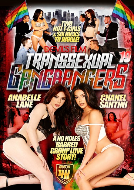 Transsexual Gangbangers #19 Dvd Cover