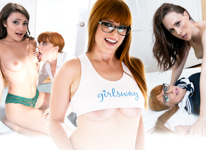 GirlsWay – Surviving The Alters – Penny Pax, Chanel Preston , Adria Rae