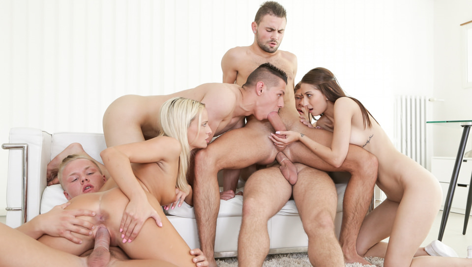 Let's Orgy! – Victoria Pure, Nicole Sweet, Christian Dean, Micky Bold