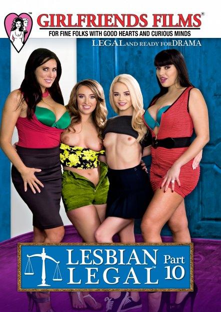 Lesbian Legal #10 DVD Cover