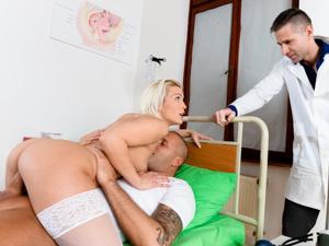 DPFanatics – Double Meat Injection For The Nurse – Cecilia Scott