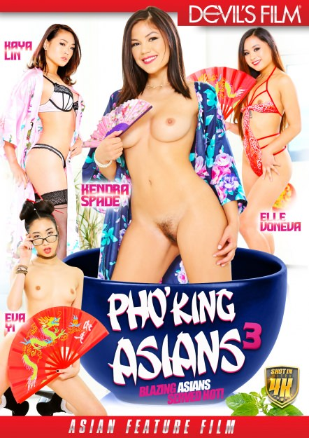 Pho King Asians #03 Dvd Cover