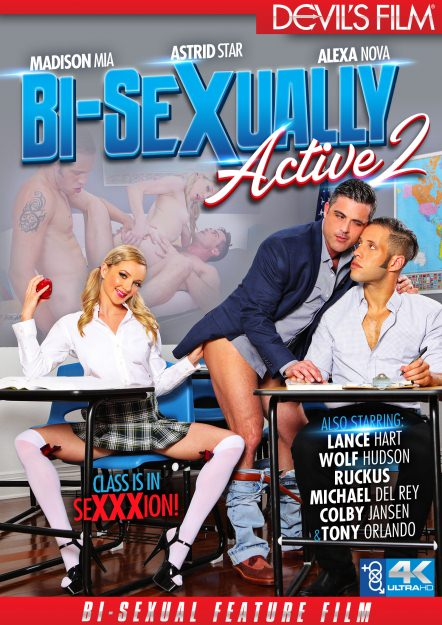 Bi-Sexually Active #02 Dvd Cover