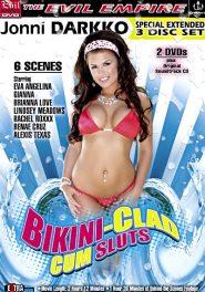 Bikini Clad Cum Sluts DVD Cover