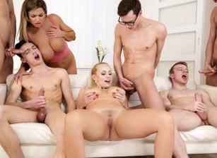 lesbienne strapon orgie porno