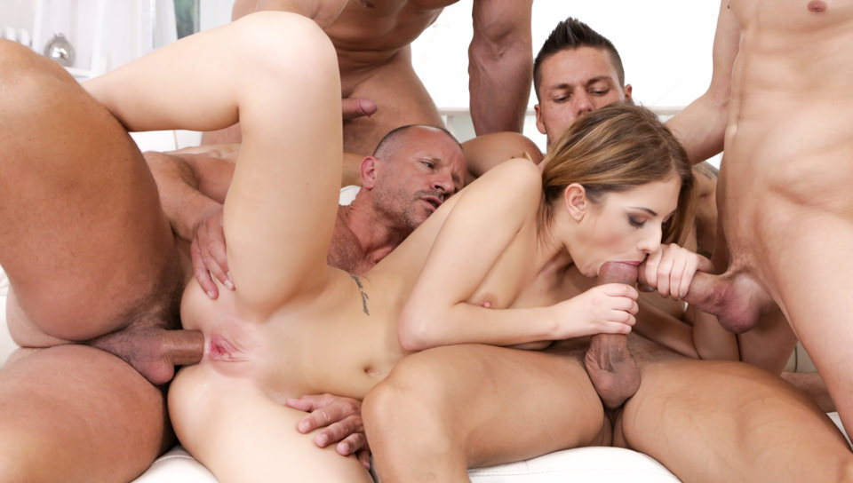 4 On 1 Gang Bangs #12, Scene #03