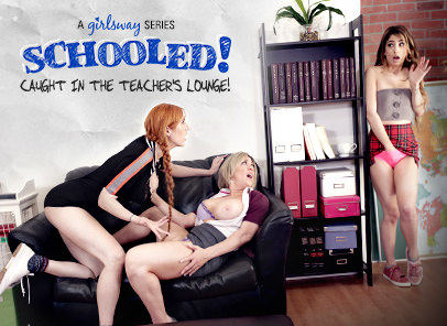 SCHOOLED!: Caught In The Teacher's Lounge!