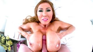 Big-Boob Asian MILF Cumslut Kianna #12
