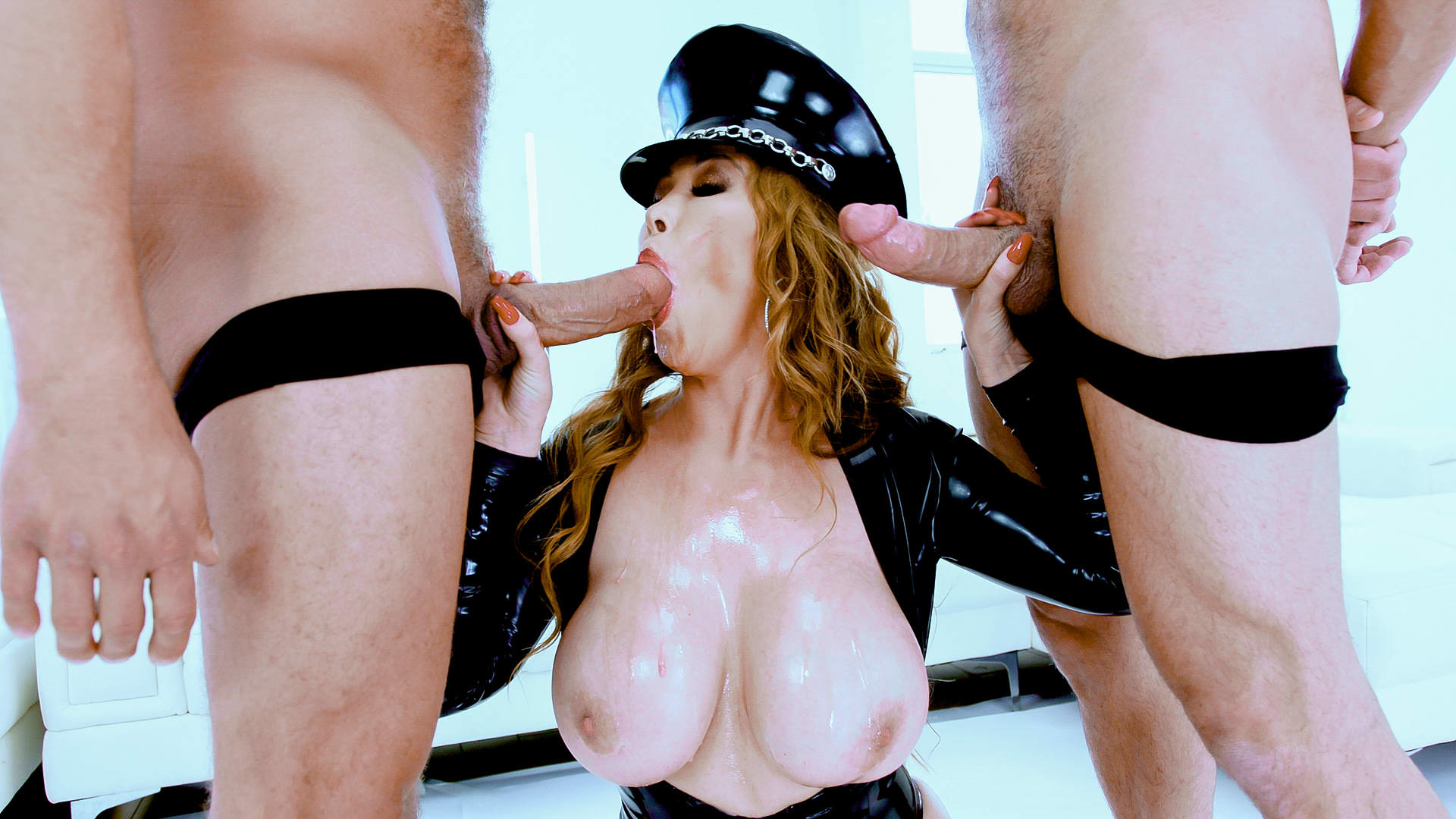 3 Facials For Asian MILF Kianna Dior
