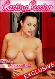 Casting #31 Carmen Croft DVD Cover