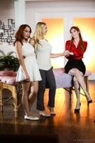 Glamour - Lauren Phillips, Luna Lain & Sarah Vandella picture 25