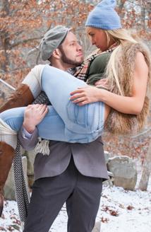 Aubrey Kate & Wolf Hudson Picture