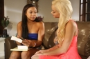 Lesbian Beauties #16 -- Interracial picture 4